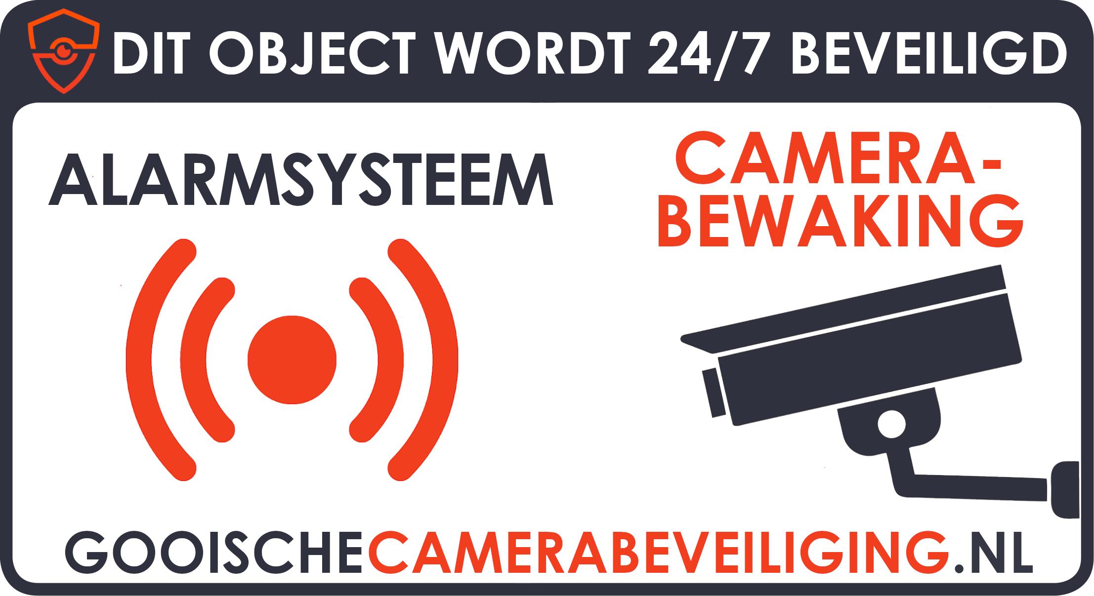 sticker camerabeveiliging dit object wordt 24/7 beveiligd
